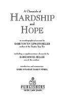 A Chronicle Of Hardship And Hope