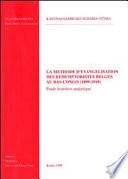 La méthode d'évangélisation des Rédemptoristes belges au Bas-Congo