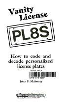 Vanity License PL8S
