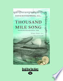 Thousand Mile Song