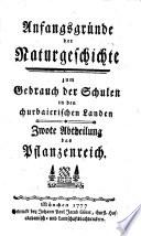 """""""Das"""" Pflanzenreich"""
