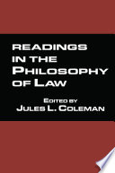 Readings in the Philosophy of Law