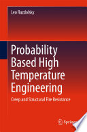Probability Based High Temperature Engineering