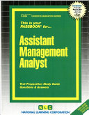 Assistant Management Analyst