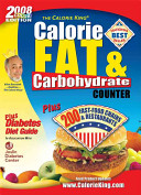 Calorie King Calorie  Fat   Carbohydrate Counter 2008