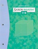 Saxon Math 7 6 Solutions Manual