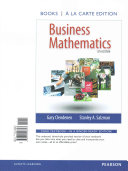 business mathematics new mymathlab with pearson etext access card package