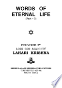 Words of Eternal Life   Vol 3