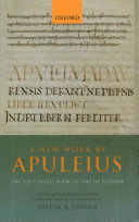 A New Work by Apuleius  the Lost Third Book of the de Platone