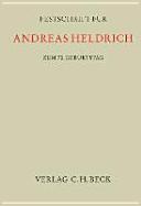 Festschrift für Andreas Heldrich zum 70. Geburtstag
