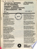 A Subject Bibliography from Highway Safety Literature