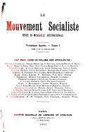 Le mouvement socialiste