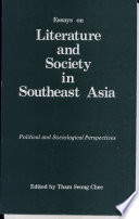 Essays on Literature and Society in Southeast Asia
