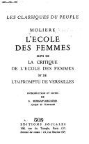 L'Ećole des femmes