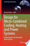 Design For Micro Combined Cooling Heating And Power Systems