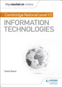 My Revision Notes Cambridge National Level 1 2 Certificate In Information Technologies