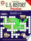 U S  History Puzzles  Grades 4   8