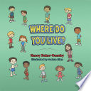 Where Do You Live? Childrens Picture Book About Human And Animal Habitats