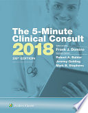The 5 Minute Clinical Consult 2018