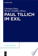 Paul Tillich im Exil