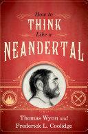 download ebook how to think like a neandertal pdf epub