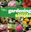 Better Homes   Gardens Gardening Made Simple