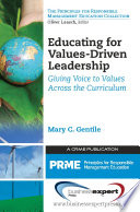 Educating for Values Driven Leadership