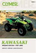 Kawasaki Mojave Ksf250 1987 2004