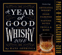 Year of Good Whisky Page A Day Calendar 2018