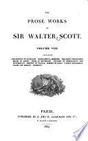 The History Of Scotland Biographical Memoirs Religious Discourses House Of Aspen Doom Of Devorgoil Letters On Demonology And Witchcraft History Of France Robert Of Paris Castle Dangerous Tales And Essays Glossary