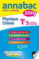 Annales Annabac 2019 Physique-chimie Tle S