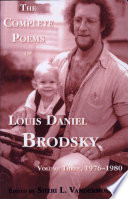 The Complete Poems of Louis Daniel Brodsky  Volume Three  1976 1980