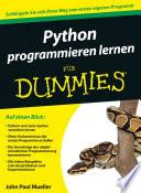 Python programmieren lernen f  r Dummies