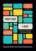 They Say book