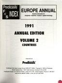 Predicasts F S Index Europe