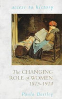The Changing Role of Women  1815 1914