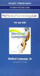 Medical Language MyMedicalTerminologyLab Access Code