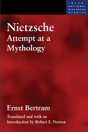 Nietzsche, essai de mythologie