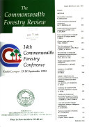 The Commonwealth Forestry Review
