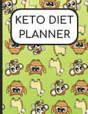 Keto Diet Planner Owl And Llama Cover 180 Day Charts For Ketogenic Diet Weight Loss And Wellness For 6 Months Of Journaling