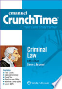 Emanuel CrunchTime for Criminal Law