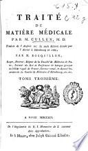 Traite de matiere medicale