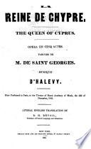La Reine de Chypre