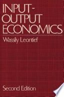 Input output Economics