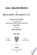 Aeltere universitäts Matrikeln