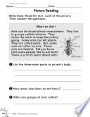 Reading Informational Text Reading Picture Diagrams Practice