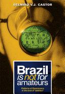 download ebook brazil is not for amateurs pdf epub