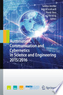 Automation  Communication and Cybernetics in Science and Engineering 2015 2016