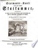 Styrmands Kunst eller saa kaldet Skatkammer  etc   Nyt og forbedret Oplag