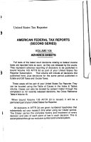 United States Tax Reporter  AFTR 2d decisions